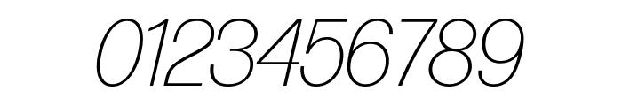 Forma DJR Display Extra Light Italic Font OTHER CHARS