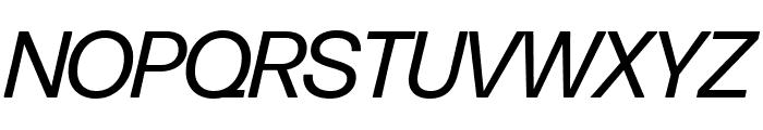 Forma DJR Display Italic Font UPPERCASE