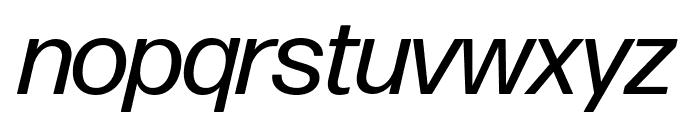 Forma DJR Display Italic Font LOWERCASE