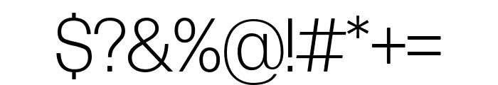 Forma DJR Display Light Font OTHER CHARS