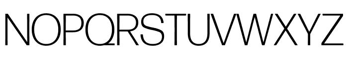 Forma DJR Display Light Font UPPERCASE