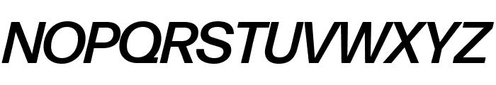 Forma DJR Display Medium Italic Font UPPERCASE