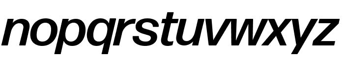 Forma DJR Display Medium Italic Font LOWERCASE