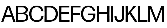 Forma DJR Display Regular Font UPPERCASE