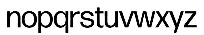 Forma DJR Display Regular Font LOWERCASE