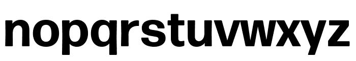 Forma DJR Micro Bold Font LOWERCASE