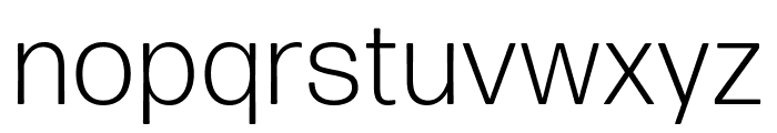 Forma DJR Micro Light Font LOWERCASE