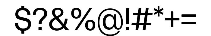 Forma DJR Micro Regular Font OTHER CHARS