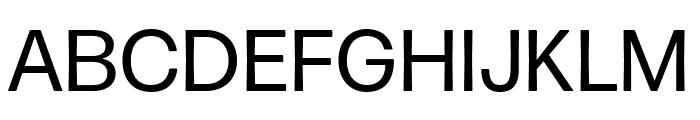 Forma DJR Micro Regular Font UPPERCASE
