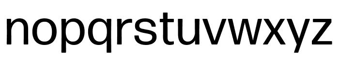 Forma DJR Micro Regular Font LOWERCASE