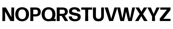 Forma DJR Text Bold Font UPPERCASE