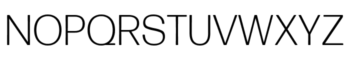 Forma DJR Text Light Font UPPERCASE