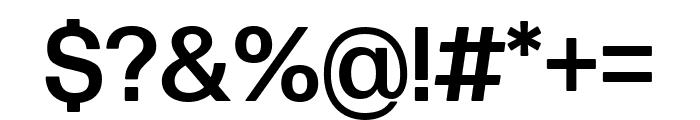 Forma DJR Text Medium Font OTHER CHARS