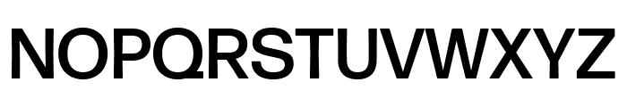 Forma DJR Text Medium Font UPPERCASE
