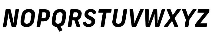 Frank New Bold Italic Font UPPERCASE