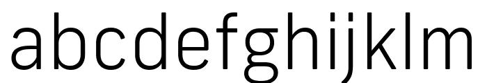 Frank New Light Font LOWERCASE