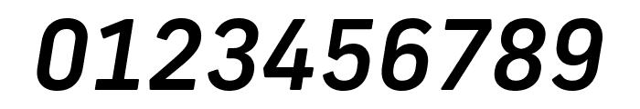 Frank New Medium Italic Font OTHER CHARS