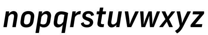 Frank New Medium Italic Font LOWERCASE
