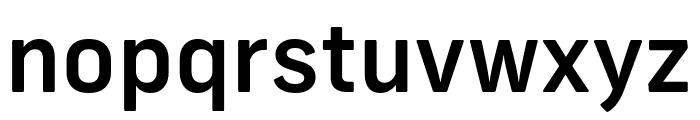 Frank New Medium Font LOWERCASE