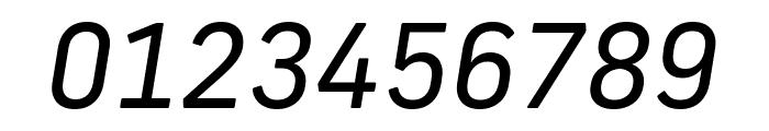 Frank New Regular Italic Font OTHER CHARS