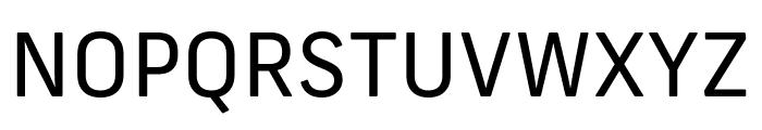 Frank New Regular Font UPPERCASE