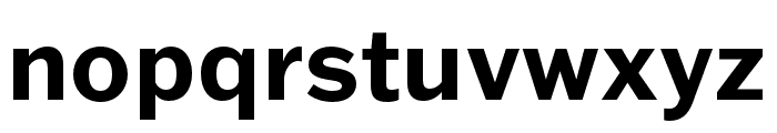 Franklin Gothic ATF Bold Font LOWERCASE