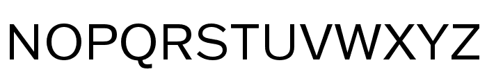 Franklin Gothic ATF Regular Font UPPERCASE
