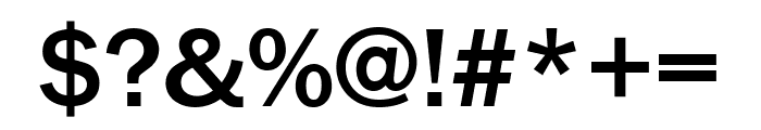 FranklinGothic URW Cond Medium Font OTHER CHARS