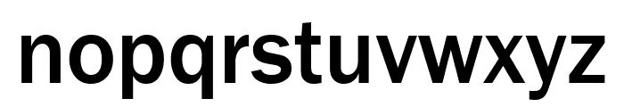 FranklinGothic URW Cond Medium Font LOWERCASE