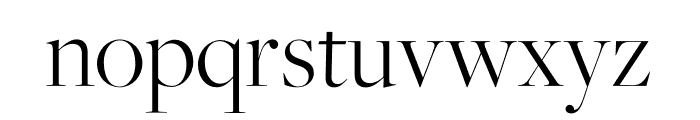 FreightBig Pro Bold Italic Font LOWERCASE