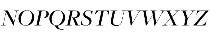 FreightDisp Pro Medium Italic Font UPPERCASE