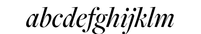 FreightDisp Pro Medium Italic Font LOWERCASE