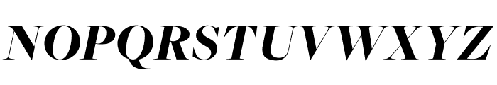 FreightMacro Pro Black Italic Font UPPERCASE