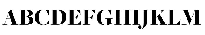 FreightMacro Pro Black Font UPPERCASE