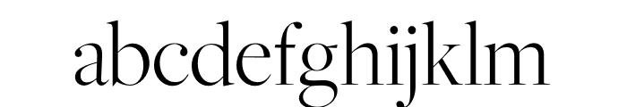 FreightMacro Pro Light Font LOWERCASE
