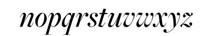 FreightMacro Pro Medium Italic Font LOWERCASE