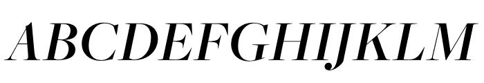 FreightMacro Pro Semibold Italic Font UPPERCASE