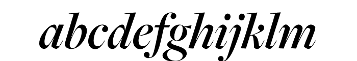 FreightMacro Pro Semibold Italic Font LOWERCASE