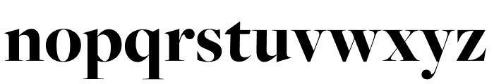 FreightMicro Pro Black Font LOWERCASE