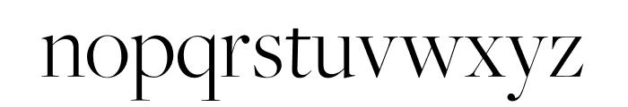 FreightMicro Pro Bold Italic Font LOWERCASE