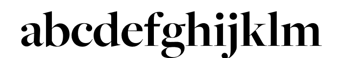 FreightMicro Pro Bold Font LOWERCASE
