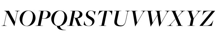 FreightMicro Pro Semibold Italic Font UPPERCASE