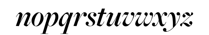 FreightMicro Pro Semibold Italic Font LOWERCASE