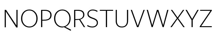 FreightSans Pro Bold Italic Font UPPERCASE