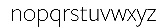FreightSans Pro Bold Italic Font LOWERCASE
