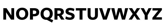 FreightSansCmpPro Bold Font UPPERCASE