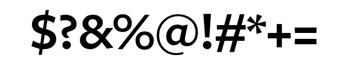 FreightSansCndPro Semi Font OTHER CHARS