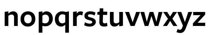 FreightSansCndPro Semi Font LOWERCASE