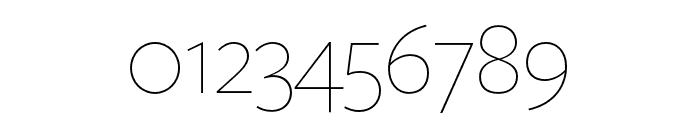 FreightSansHPro Thin Font OTHER CHARS