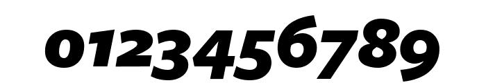 FreightSansUCndPro UltraBlack Italic Font OTHER CHARS